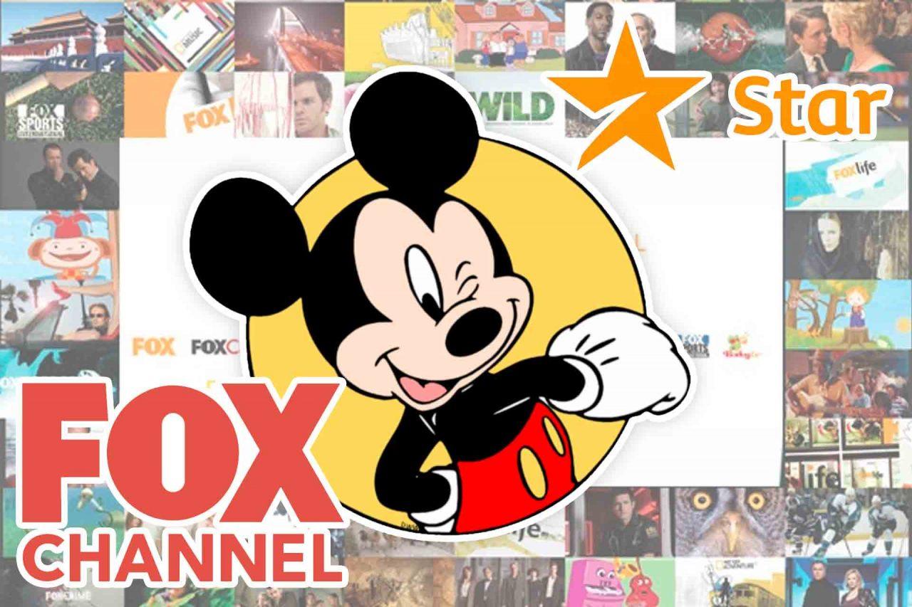 Disney, Cambios, Fox Channel, Star Channel.