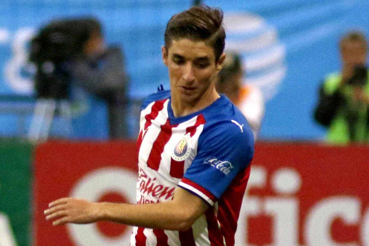 El jugador del Guadalajara, Isaac Brizuela