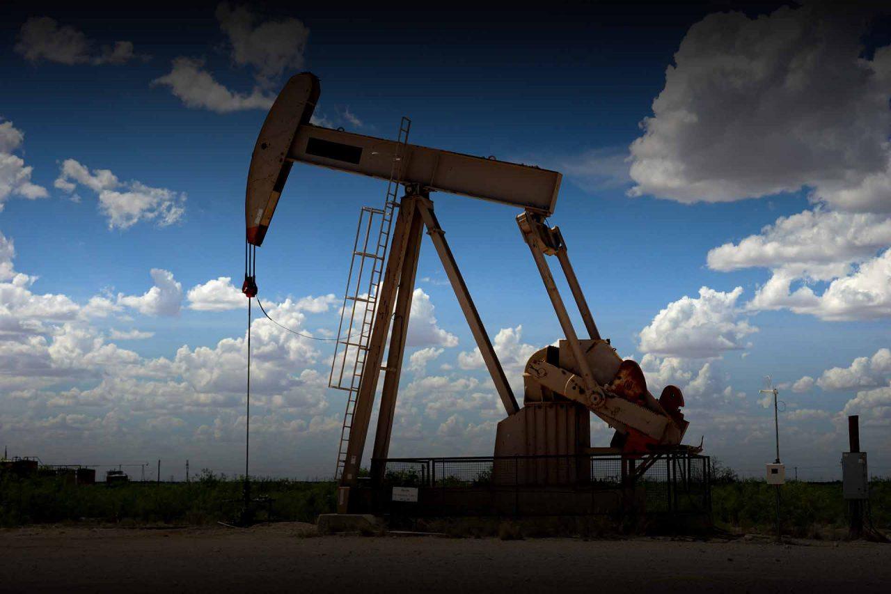 Texas pozo petrolero