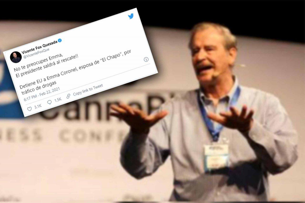 El expresidente de México Vicente Fox