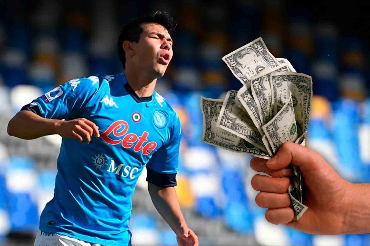 Napoli podría vender al Chucky Lozano.