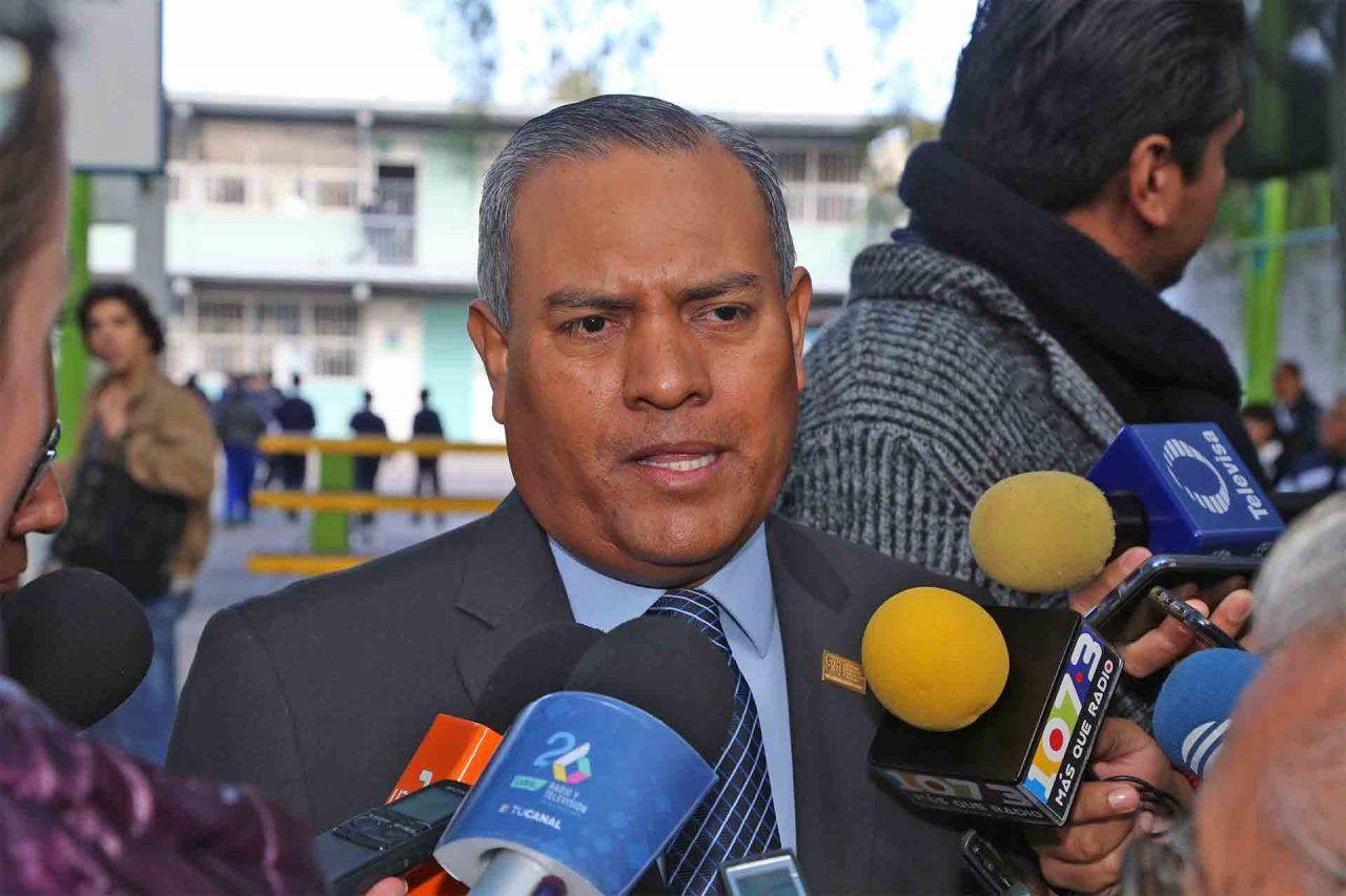 Ramón García Alvizo, secretario general de la Sección 1 del SNTE.