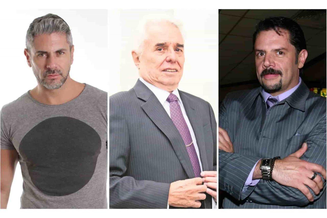 Ricardo Crespo, Enrique Guzmán y Héctor Parra