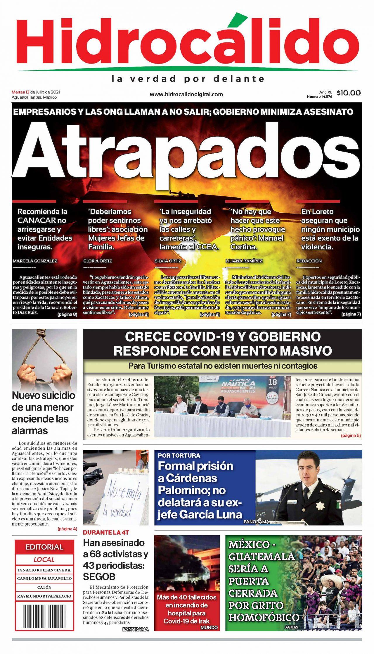 PDF Portadas Hidrocálido Aguascalientes Noticias