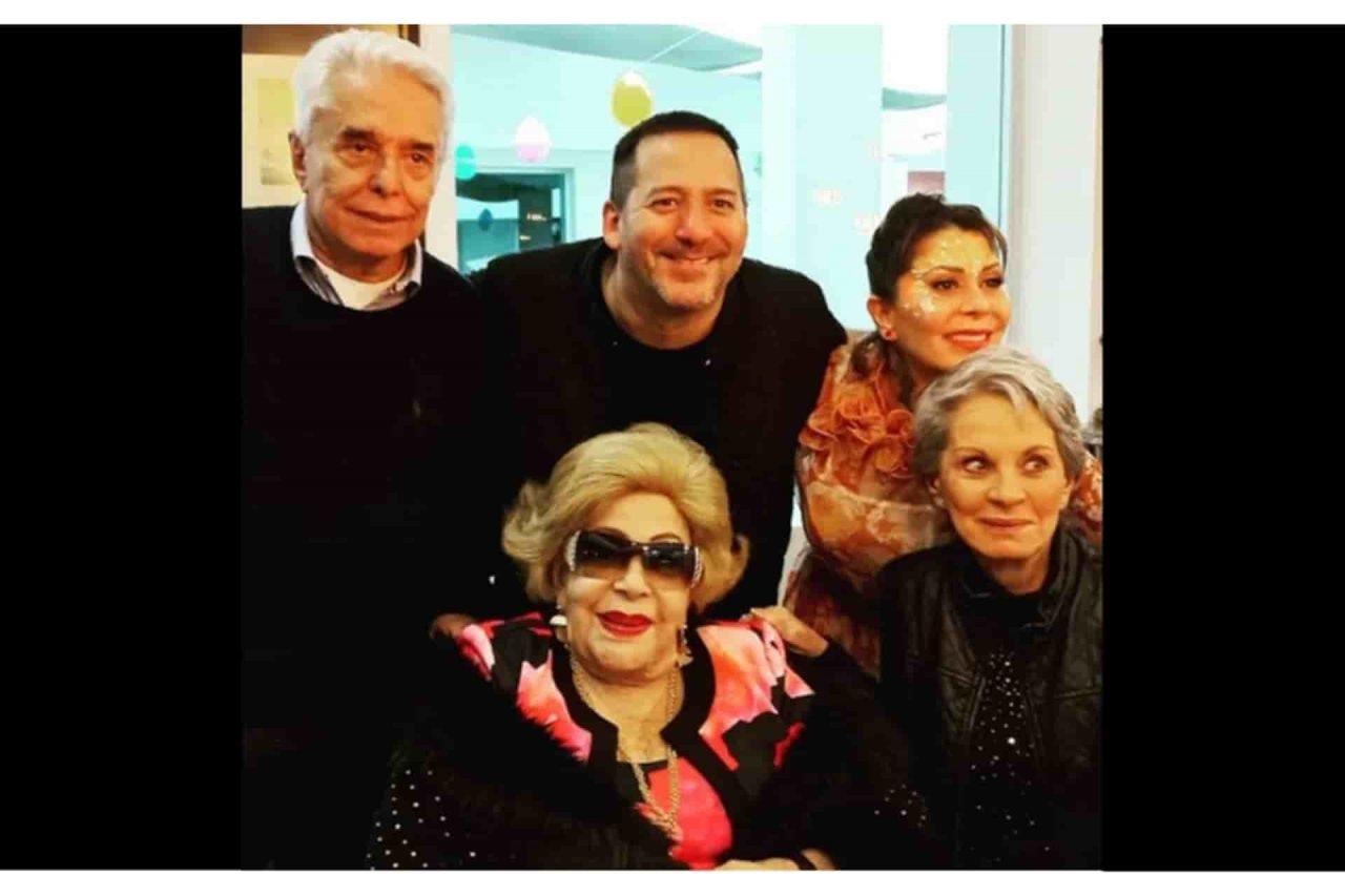 Silvia Pinal reaparece en redes junto a Enrique Guzmán