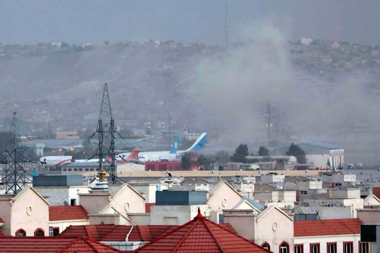 Afganistán Kabul Atentado Aeropuerto.