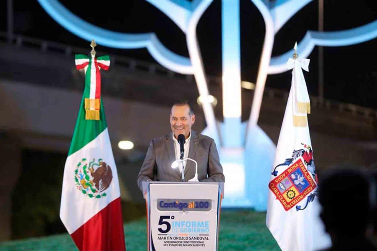 Aguascalientes Martín Orozco Informe de Movilidad Mentadas