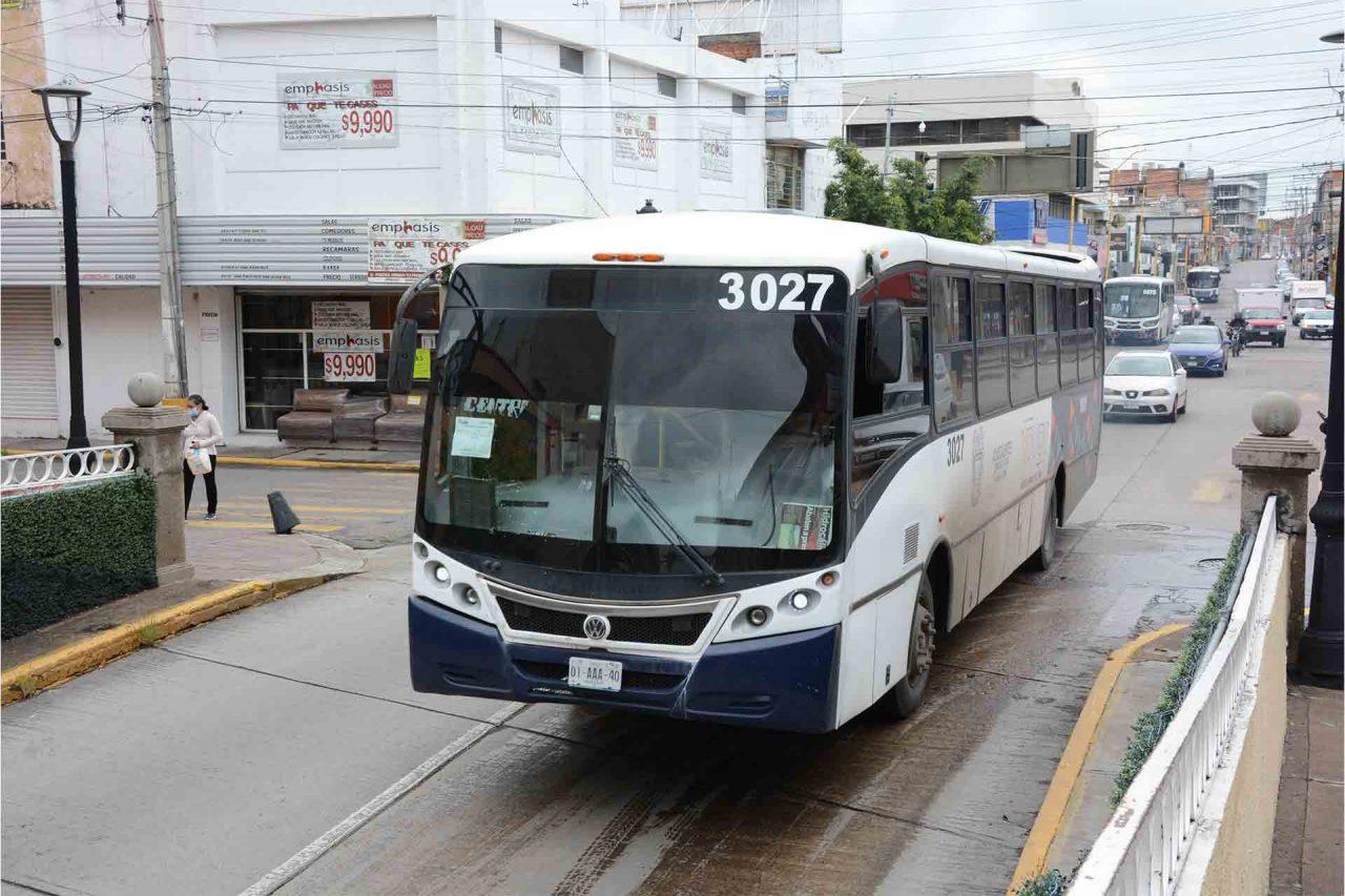 Aguascalientes Transporte Público Paradas