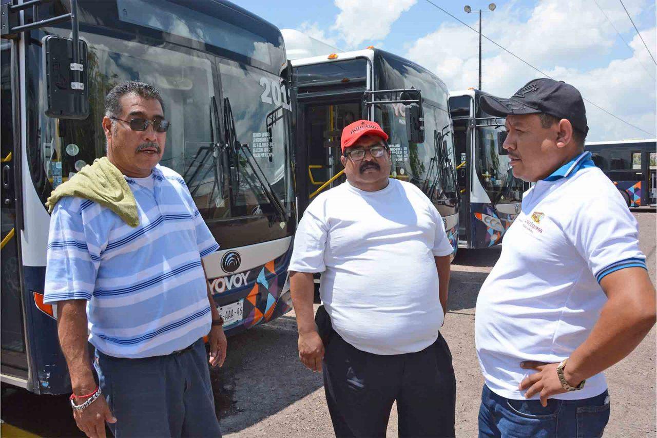 Aguascalientes Choferes Transporte Público Contrato Colectivo