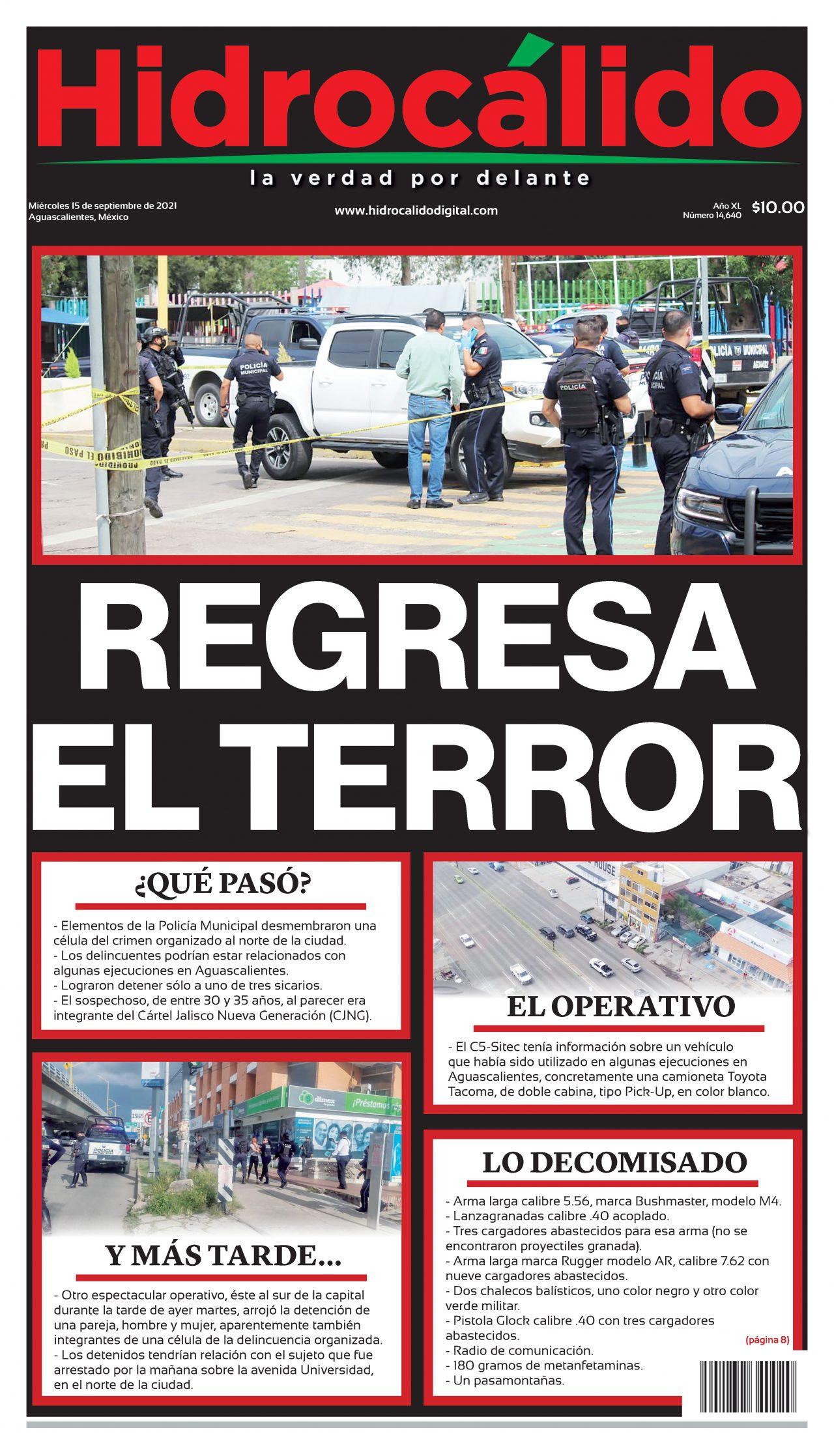 Noticias Aguascalientes Periódico Hidrocálido