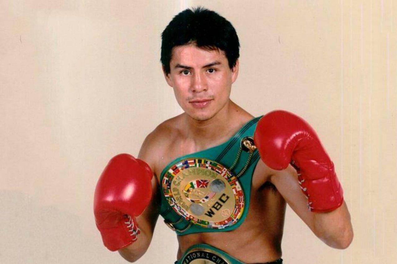 Boxeador Miguel Ángel González